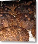 Homemade Lithuanian Rye Bread Metal Print