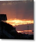 Homes Of Sea Bright  Metal Print