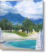 Homesick For Hawaii Metal Print