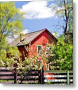 Homestead At Old World Wisconsin Metal Print