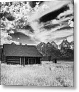 Homestead Mormon Row Metal Print