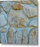 Homestead Stonework Metal Print