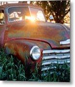 Homestead Truck Metal Print