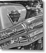 Honda Cl450 Scrambler Metal Print by William Jones