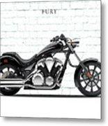 Honda Fury Metal Print
