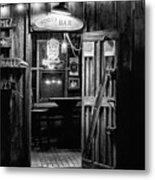 Hondos Bar In Luckenbach Texas Metal Print