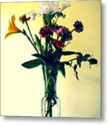 Honey Creek Flowers Metal Print by Tom Zukauskas