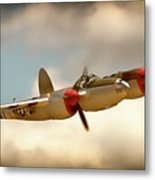 Honey Dancin P-38 Lightning Metal Print