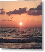 Honey Moon Island Sunset Metal Print
