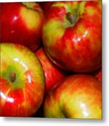 Honeycrisp Apples Metal Print