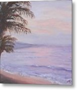 Honeymoon In Maui Metal Print