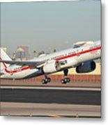 Honeywell Boeing 757-225 N757hw Phoenix Sky Harbor January 14, 2016 Metal Print