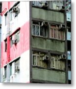 Hong Kong Apartment 3 Metal Print
