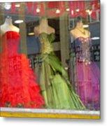 Hong Kong Dress Shop Metal Print