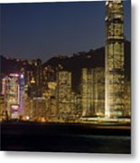 Hong Kong Harbor December 1 Metal Print