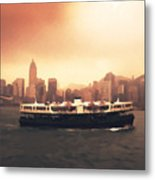 Hong Kong Harbour 01 Metal Print