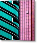 Hong Kong Offices Metal Print