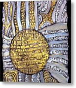 Honor To The Sun Metal Print