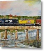 Hooch - Chattahoochee River - Columbus Ga Metal Print