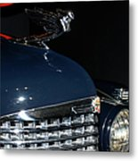 Hood Ornament-1938 Cadillac V-16 Town Sedan Metal Print