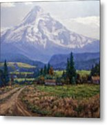 Hood River Valley Metal Print