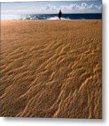 Ho'okahi - A Stroll Along A Beach Metal Print