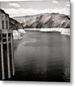 Hoover Dam Intake Towers #2 Metal Print