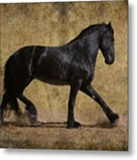 Hooves Of Thunder Metal Print by Jean Hildebrant