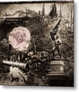 Hope In A More Violent Time. Metal Print