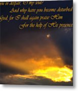 Hope In God Metal Print
