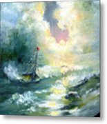 Hope In The Storm I Metal Print