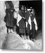 Hopi Maidens, 1906 Metal Print by Granger