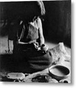 Hopi Potter, C1906 Metal Print by Granger
