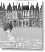 Hopscotch  Metal Print