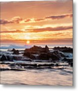 Horizon In Paradise Metal Print