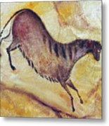 Horse A La Altamira Metal Print