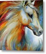 Horse Angel No 1 Metal Print