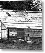 Horse Barn Now Metal Print