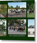 Horse Capital Of The World Metal Print