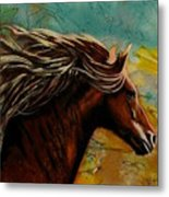 Horse In Heaven Metal Print
