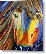 Horse One Metal Print
