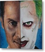Moriarty And The Joker Metal Print