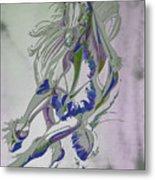 Horse Portrait 02v Metal Print