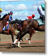 Horse Power 6 Metal Print
