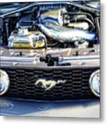 Horse Power Metal Print