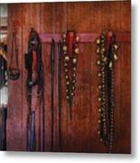 Horse Trainer - Jingle Bells Metal Print by Mike Savad