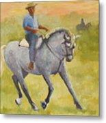 Horseman 3 Metal Print