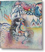 Horseman. St. George Metal Print
