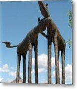 Horses In Sedona Metal Print