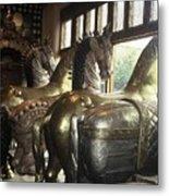 Horses Of Santa Fe Metal Print